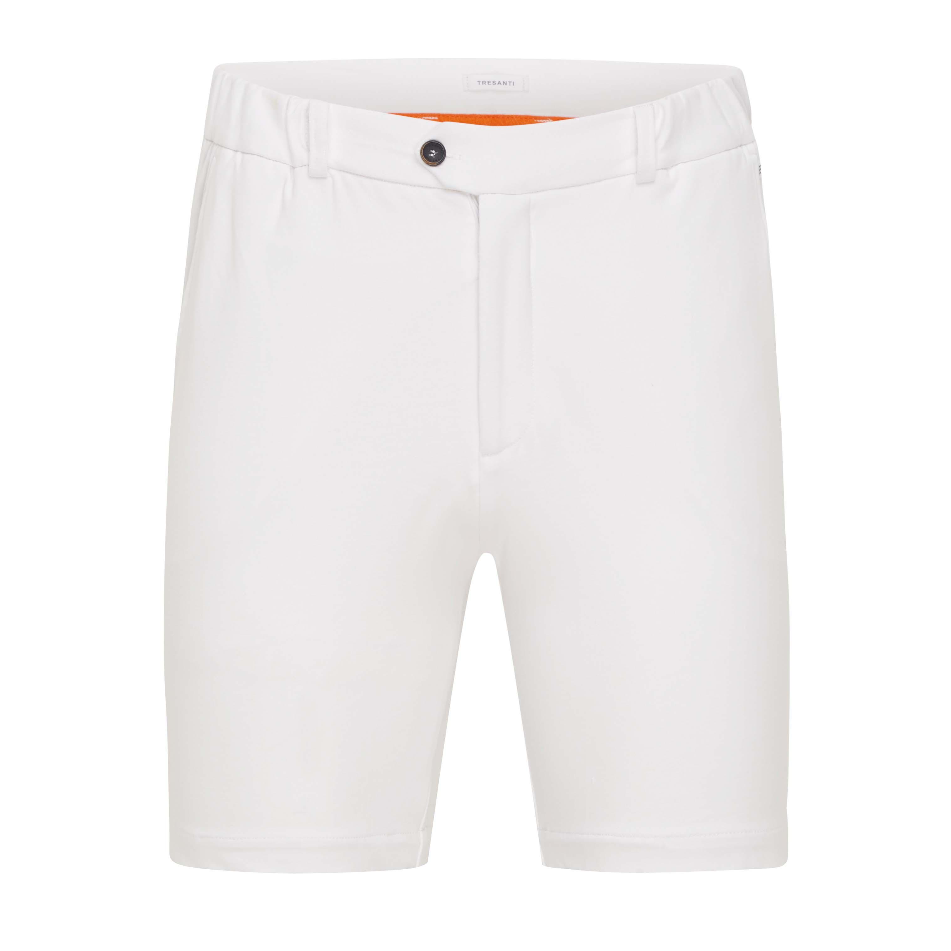 Trey | Shorts stretch white