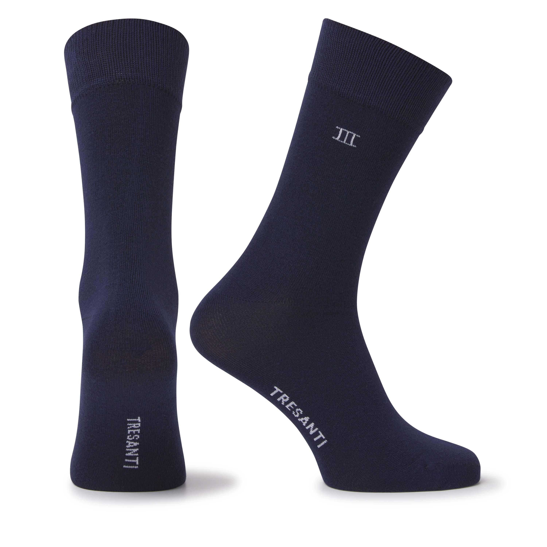 Socks bamboo navy