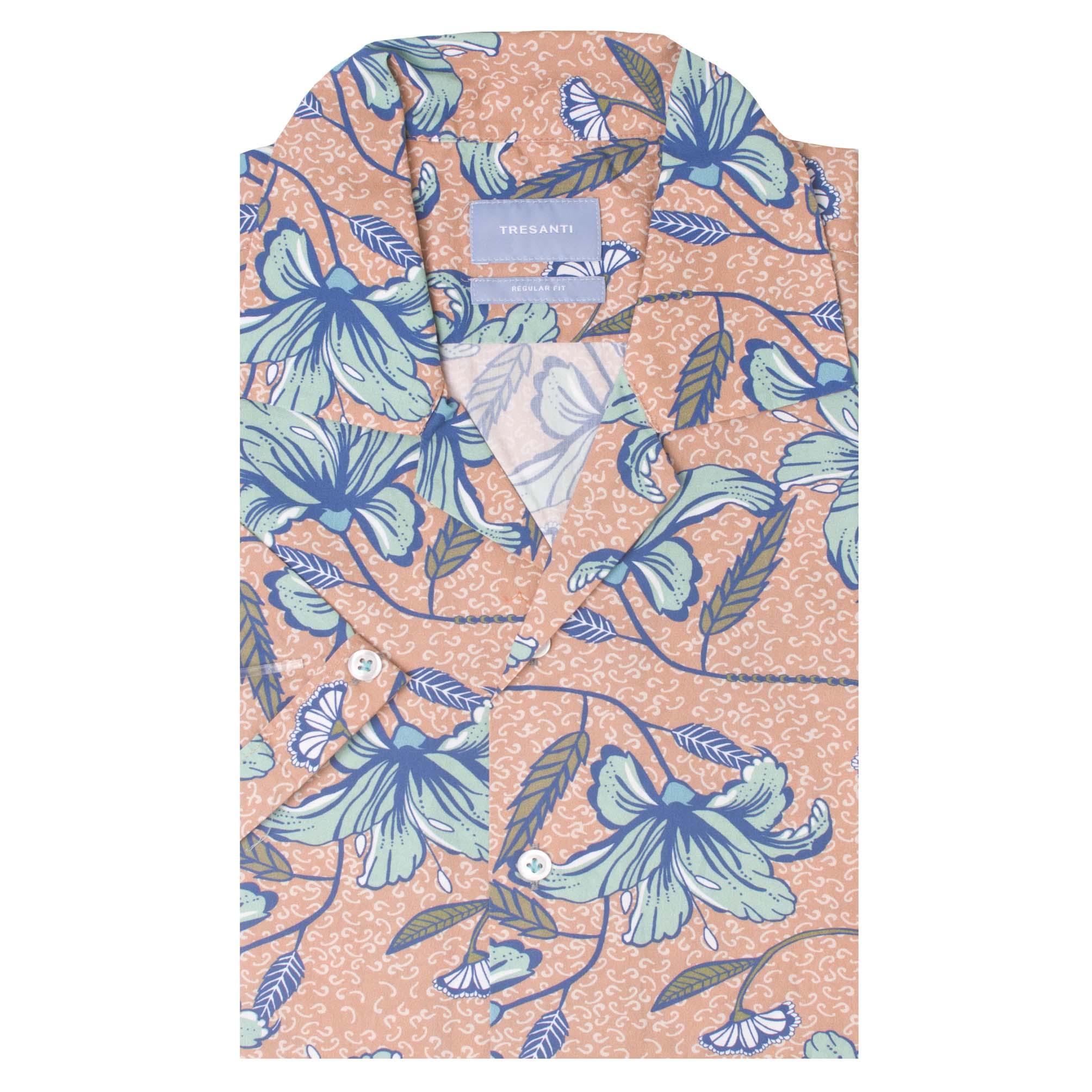 Thiago | Shirt hawaii flower print | SS