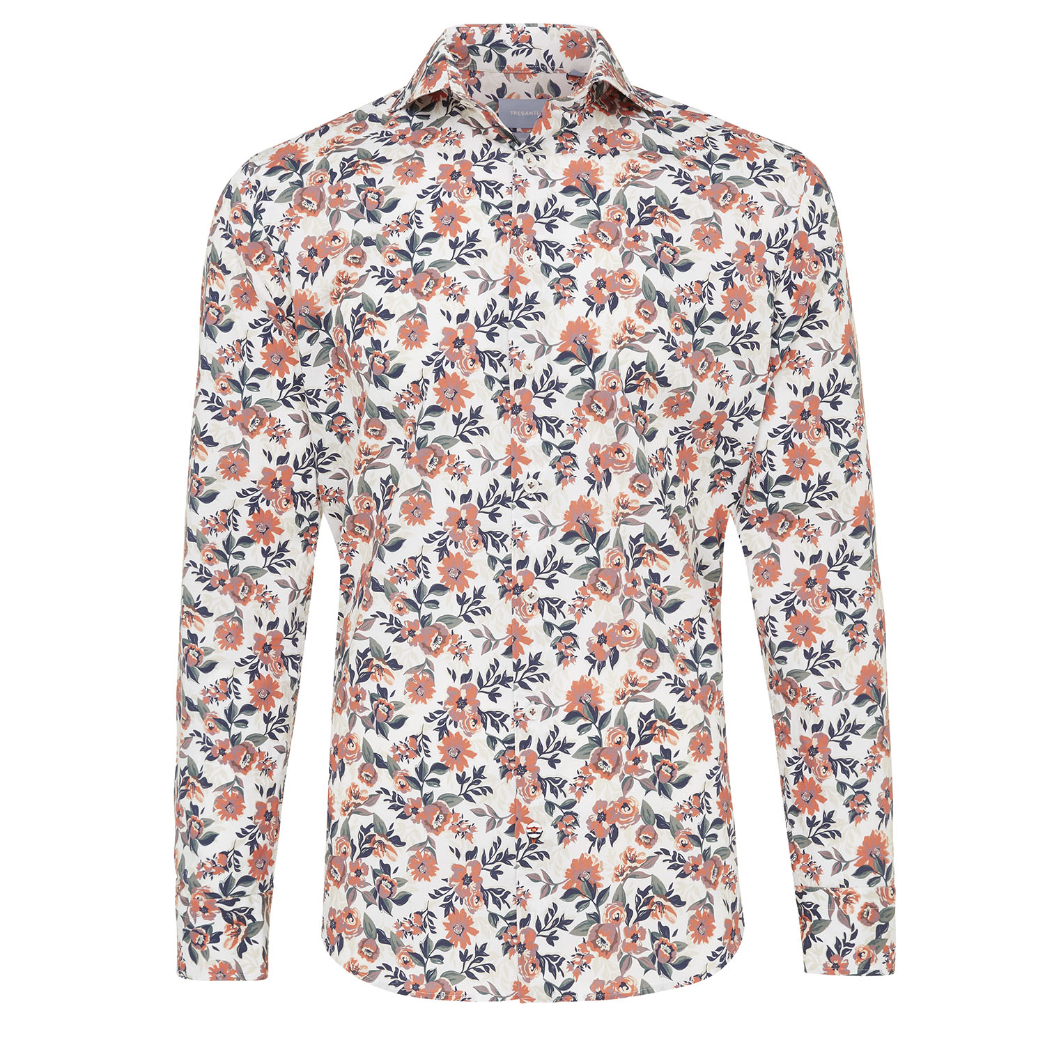 Mischa | Shirt white allover flower print
