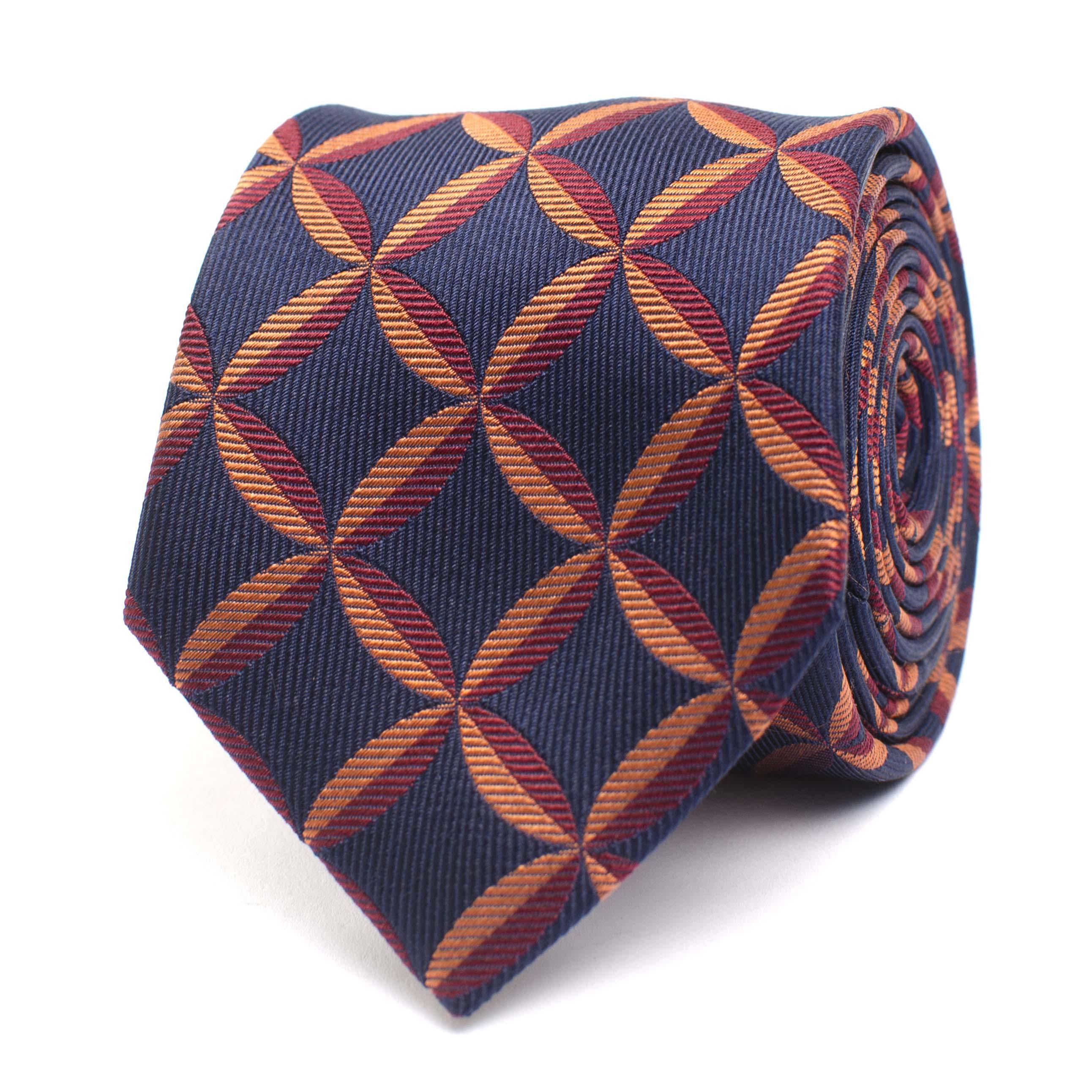 Jaxen | Tie silk with fanstasyprint