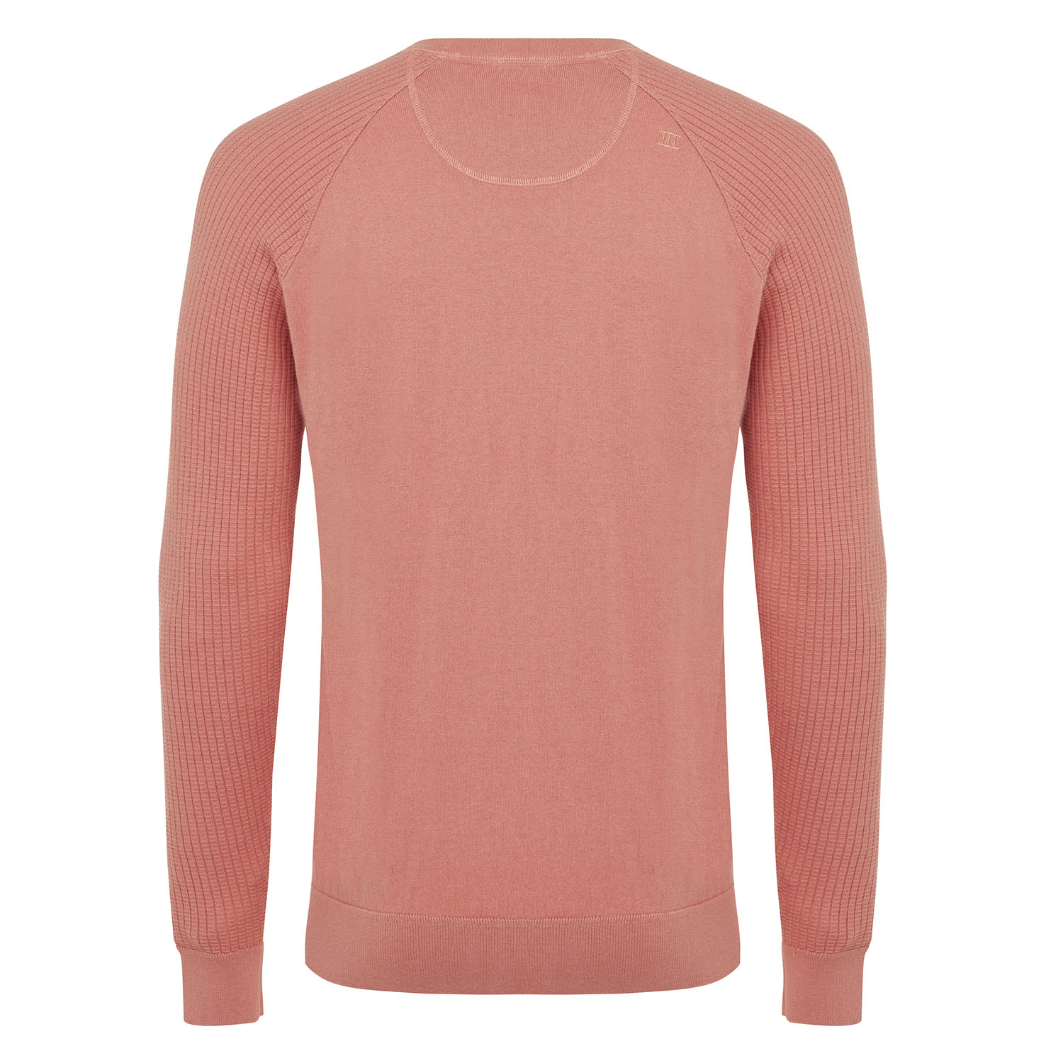 Magnus   Pullover rib sleeves pink cotton/cashmere