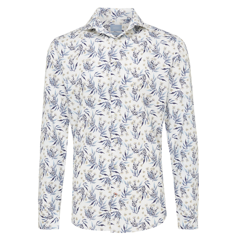 Matias | Shirt floral print blue