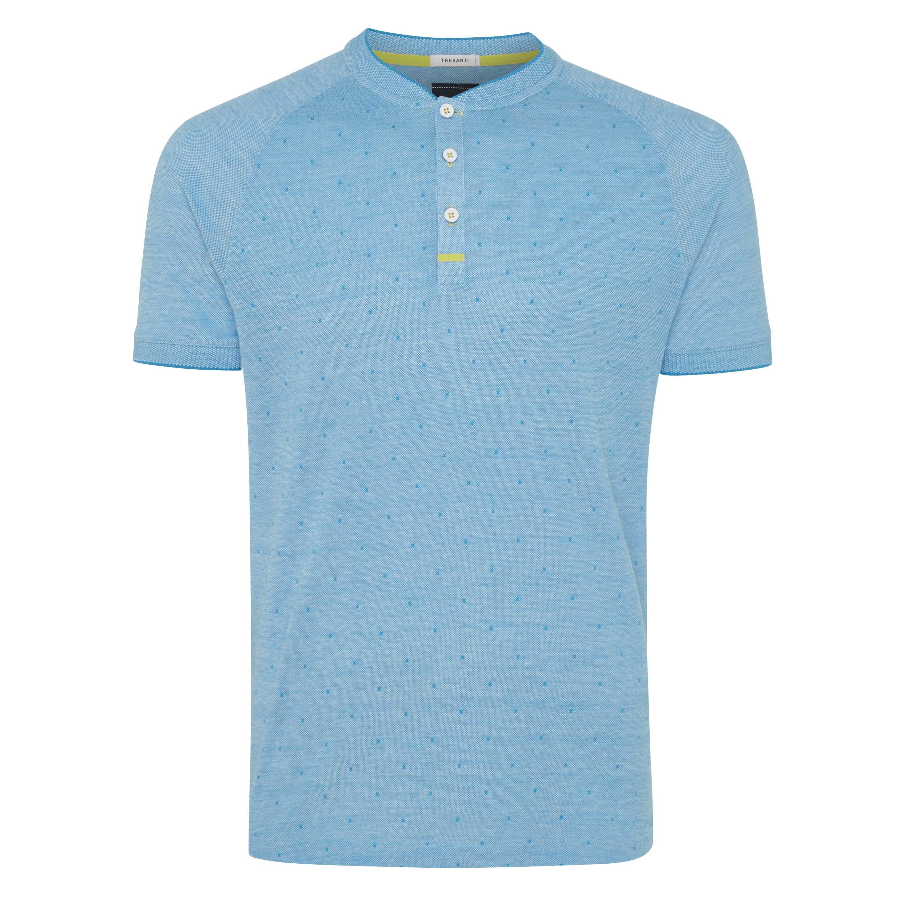 Terrence | T-shirt raglan sky blue