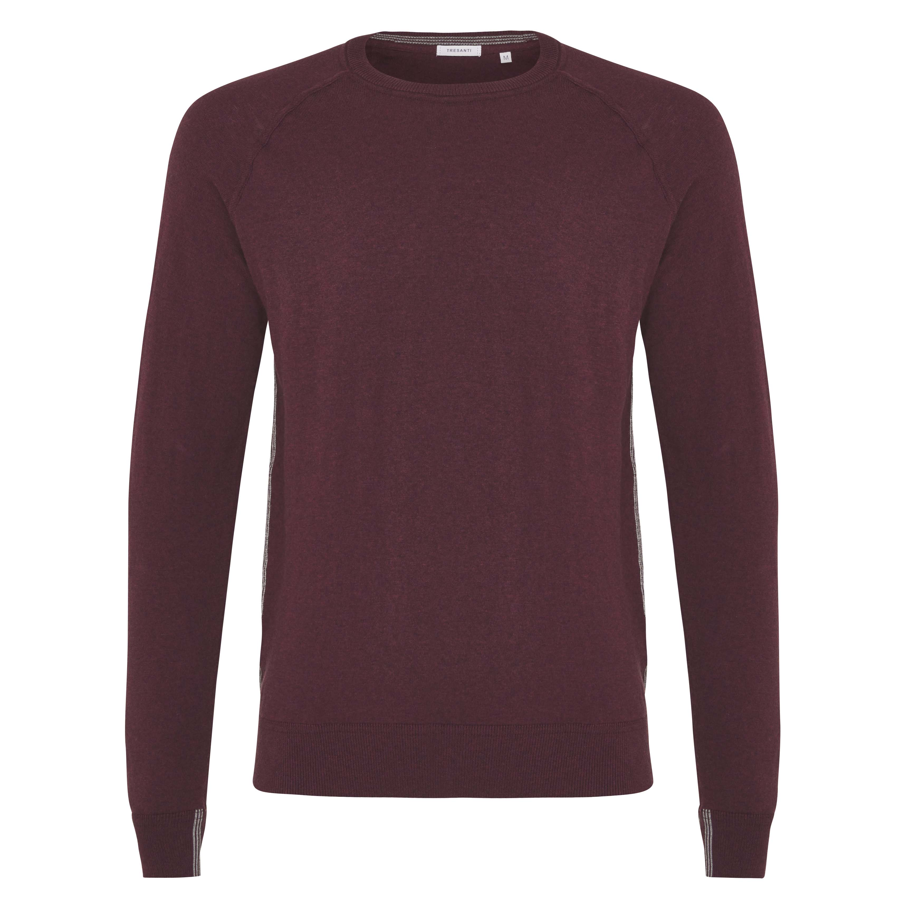 James | Pullover raglan burgundy