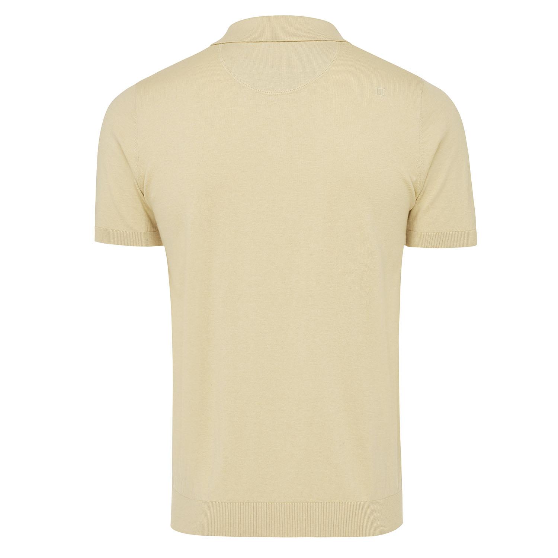 Trevor   Pullover short sleeve cotton/cashmere beige