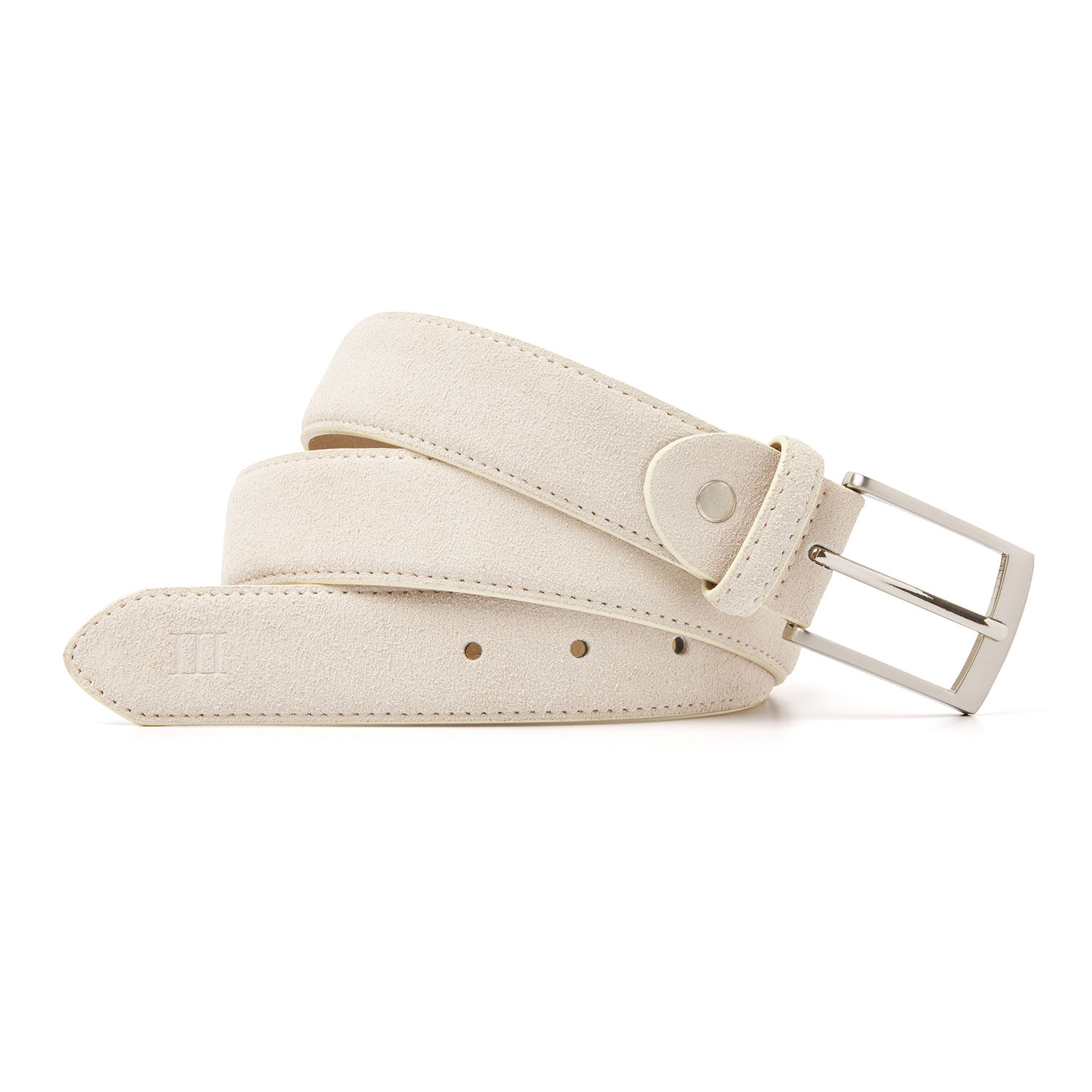 Tyler | Suede belt light beige