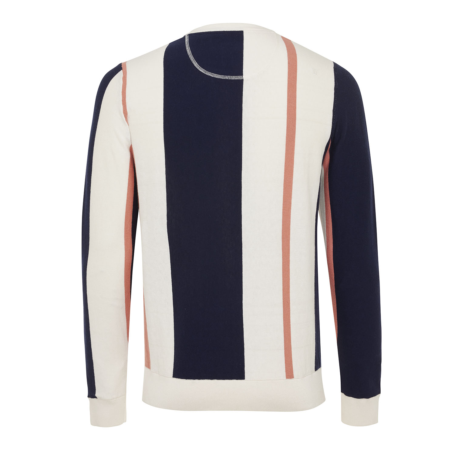 Morris | Pullover vertical stripes cotton/cashmere
